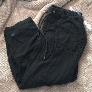 Cargo style crop pants